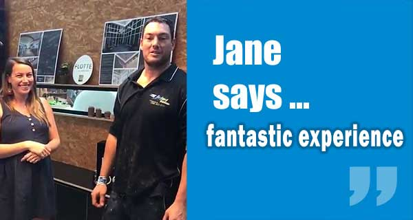Jane Customer Review from Upper Coomera