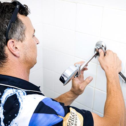 Leaking Shower Upper Coomera